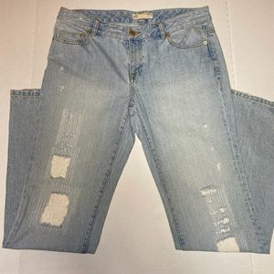 Michael Kors distressed Jeans size 10